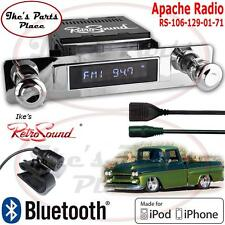 RetroSound 54 Chevy Truck Apache Radio/BlueTooth/iPod/USB/RDS/3.5mm AUX-In