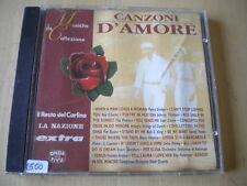 Canzoni d'amoreCD1996pop ballad Charles King Sledge Platters Pitney17 tracks