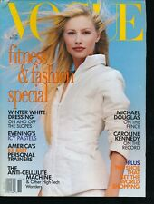 VOGUE November 1995 Fashion Magazine KIRSTY HUME Cover by STEVEN MEISEL VF