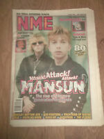NME MAGAZINE / NEWSPAPER MAY 10 1997 MANSUN THE CHARLATANS FOO FIGHTERS