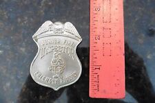 Pin Junior Fire Inspector Friendly Firefly eagle badge