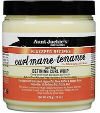Aunt Jackie's Flaxseed Recipes Curl Mane-tenance Defining Curl Whip 15 oz