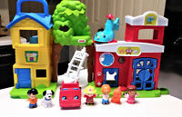 Fisher-Price Little People Animal Rescue Play Set with figures