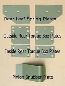 1966-1970 Plymouth Dodge Hemi B-Body Torque Box Plates Pinion Snubber Plate