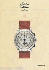 Prospekt Jubilar Chronosport 41.J-02 H. Sinn 2002 Uhrenprospekt Chronograph Uhr