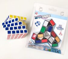 Professional Ultra-smooth Magic 5X5X5 Rubik Cube + Magic Snake 24 spring coil V