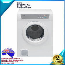 EURO 7 kg TUMBLE DRYER E7SDWH Wall Mountable BRAND NEW 2 years warranty