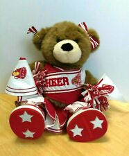 Build A Bear Cheer Leader w/ Red Outfit shoes & Accessories Plush Stuffed Animal