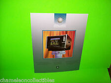 NEW IMAGE STREET GAMES COUNTERTOP NOS VIDEO ARCADE GAME MACHINE SALES FLYER