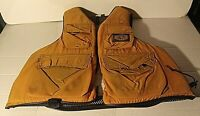 Vintage Stearns Buoyant Flotation Fishing Vest Adult Size XL SBV-4165