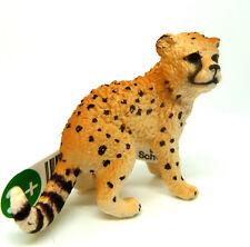 T22) Schleich (14747) Guepardo Geparden Baby Depredador Animal