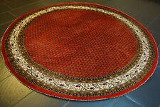 Schöner Runder Handgeknüpfter Orientteppich Sarough MIR Carpet Rug Tappeto 200cm