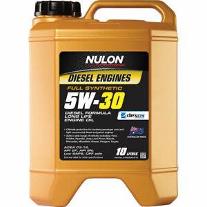 Nulon Full Synthetic Long Life Diesel Engine Oil 5W-30 10 Litre