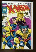 LOT OF 4 COPIES UNCANNY X-MEN #275 NEAR MINT 9.4 JIM LEE ART 1991 MARVEL COMICS