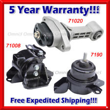M522 Fits 2010-2011 Kia Soul 1.6L MANUAL, Engine Motor & Trans Mount Set 3pcs