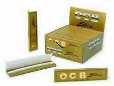OCB Rolling Paper King Size Gold Slim Box Of  50