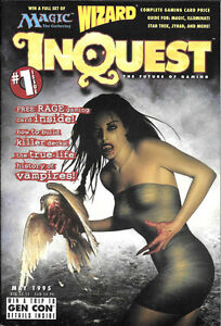 InQuest Magazine Set Issues #1-3 Brand New 1995 MTG Wizard's WOTC Amricons H27