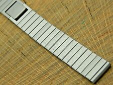 NOS Seiko Vintage Unused Base Metal Butterfly Clasp Watch Band 15mm Ladies