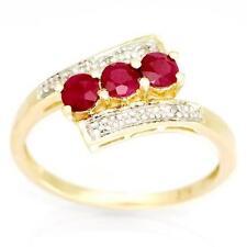 Handmade Natural Round Engagement Fine Rings