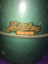 Holiday Hemp & Company Green Thermos With Lid And Cap Water Jug Cooler