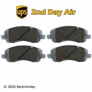 Beck/Arnley Ceramic Front Disc Brake Pad Set for Mitsubishi 085-1656