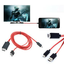 1080P MHL micro USB HDMI HDTV AV TV Cable adapter Cord For LG Spectrum phone