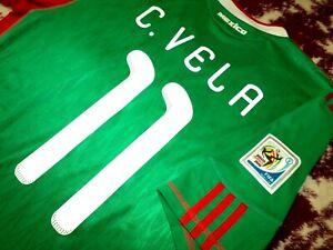 Jersey mexico Carlos Vela 2010 adidas (S) green LAFC world cup green shirt
