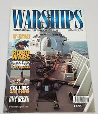 Warships International Fleet Review Magazine Back Issue Summer 99 Robo Wars