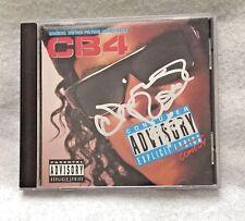"""Autographed Chris Rock """"CB4"""" Original Motion Picture Soundtrack CD 1992"""