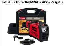 Saldatrice Inverter Telwin FORCE MPGE 168 + accessori e valigetta - Art. 816211