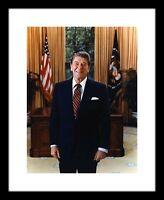 Ronald Reagan 8x10 Photo Print Official Presidential Portrait GOP Republican