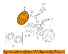 TOYOTA OEM 04-10 Sienna Rear Brake-Backing Plate Splash Dust Shield 4704408020