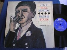 Jelly Roll Morton/Rags & Blues/From LOC Sessions/1960/Riverside RLP 140/MINT-