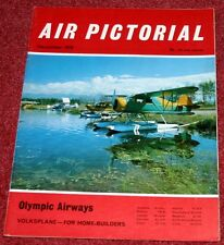 Air Pictorial Magazine 1970 December Olympic Airways,HMS Endurance,Beaufort