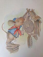 Jody Michigan Adventure Mouse Frankenmuth Cuckoo Clock Children Illustration Art