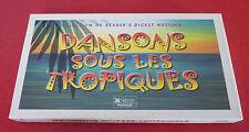 Triple Cassette Audio Dansons Sous les Tropiques in Display Box