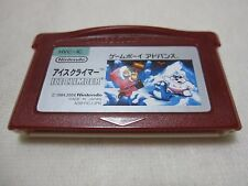 7-14 Days to USA. Software Only GAMEBOY ADVANCE Famicom Mini Ice Climber Japan