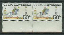 Tschechoslowakei Briefmarken 1983 Kinderbuchillustrationen Mi.Nr.2723ungest.Paar