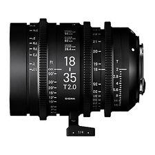 Sigma 18-35mm T2 Cine High-Speed Zoom Lens (Sony E) & 32GB USB FLASH DRIVE