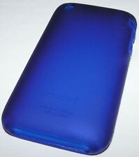 Speck SeeThru Satin Hard Shell case for iPhone 3G/3GS, Navy Blue matte finish