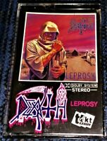 DEATH Leprosy VG Cassette Tape Plays Perfectly Rare Thrash/Death Metal