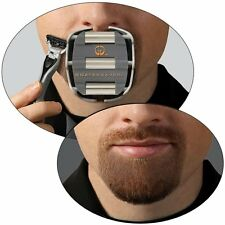 Shaving Template Shaper Mens Goatee Style Design Beard Mustache Guide Tool