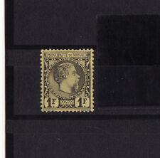 MONACO  prince Charles III   1f  noir sur jaune   num:  9   *  bc    signé