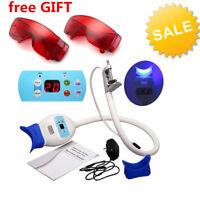 Kit Professionnel Blanchiment Dents Dentaire LED Lampe Accélérateur + 2