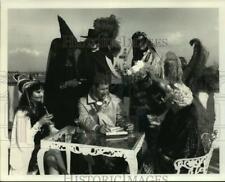 1989 Press Photo Actors for Halloween Murder Mystery at Galveston, Texas