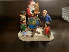 Dept 56 Snow Village Accessory 2000 Santa Comes To Town 55015 Retired 2000