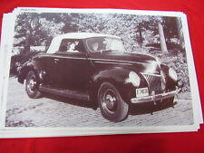 1939 FORD  CONVERTIBLE   11 X 17  PHOTO /  PICTURE