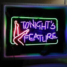 """New Tonight's Feature Neon Light Sign Home Wall Decor Bar Pub Gift 20""""x16"""""""