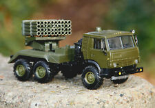 KAMAZ 5350 GRAD Raketenwerfer Modell 1:43 Made in USSR UdSSR OSTALGIE URAL ZIL