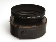 Nippon Kogaku Metall Gegenlichtblende für das Nikkor Wide 35 / 48mm